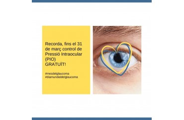 GLAUCOMA, PROVES PER LA DETECCIÓ I FACTORS DE RISC.